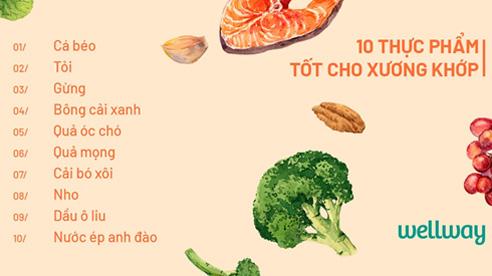 10 loại thực phẩm tốt nhất nên bổ sung nếu bạn bị viêm khớp
