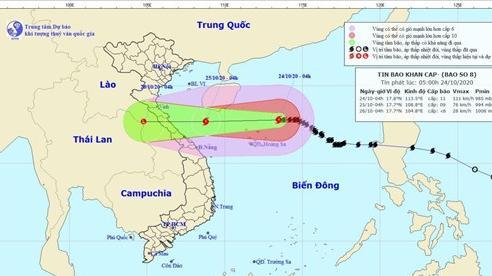 Bão số 8 chưa vào đất liền, áp thấp nhiệt đới mới đã xuất hiện trên biển