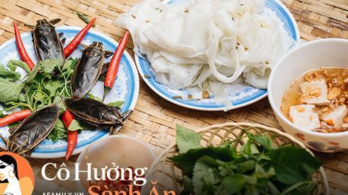 Bánh cuốn cà cuống món ăn tưởng đã thất truyền, nào ngờ vẫn được người phụ nữ 30 năm bán trên phố Nguyễn Khuyến gìn giữ, ai ăn thử một lần 'nghiện' đến khó quên