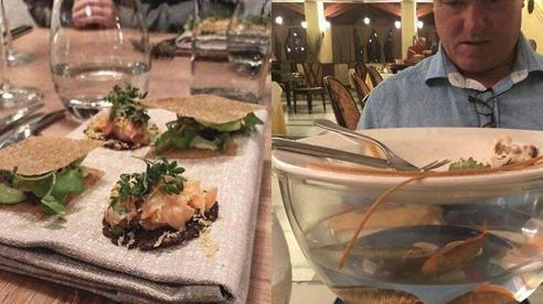 Loạt đồ ăn khi 'lên mâm' của các nhà hàng siêu trí tuệ khiến dân mạng cười ngất vì độ vô lý có '1-0-2'
