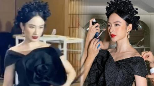 Angela Phương Trinh 'nữ hoàng thảm đỏ' ngày nào đã trở lại chặt chém sự kiện, lộ ảnh cam thường nhưng có được như PTS?