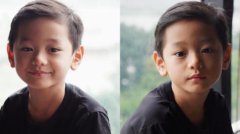 Con trai Trà My Idol 'gây sốt' mạng xã hội vì vẻ ngoài nam thần dù mới 6 tuổi