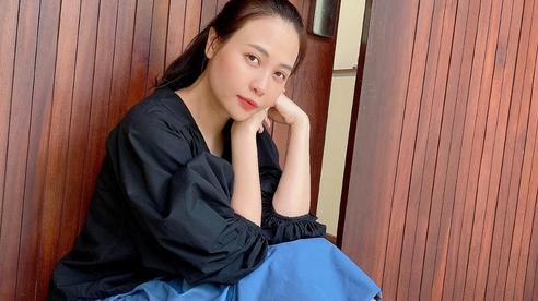 Đàm Thu Trang khoe nhan sắc ngọt ngào của 'gái một con'