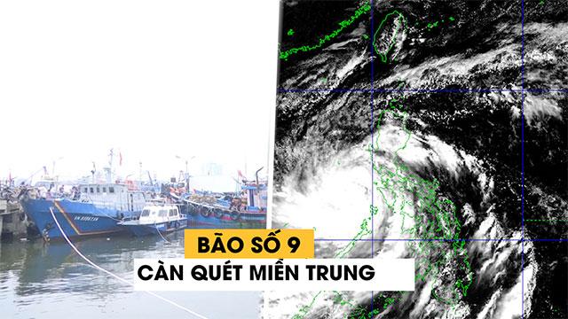 ĐỪNG LỠ ngày 27/10: NÓNG - Bão số 9 giật cấp 17 đạt cường độ cực đại vào tối nay, cấm biển, cấm bay, cấm người dân Đà Nẵng - Huế ra khỏi nhà