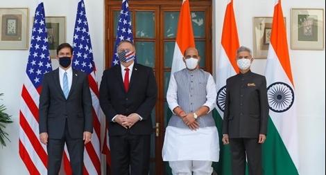 Mỹ 'bắt tay' Ấn Độ để đối đầu với Trung Quốc