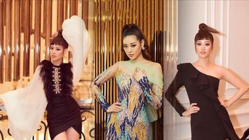 Khánh Vân liên tục khoe bảo bối trời ban với loạt váy ngắn siêu gợi cảm