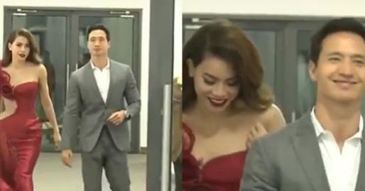 Clip cũ của Hà Hồ - Kim Lý bị 'đào mộ' nhưng cách xử sự với bạn gái của nam diễn viên lại gây tranh cãi