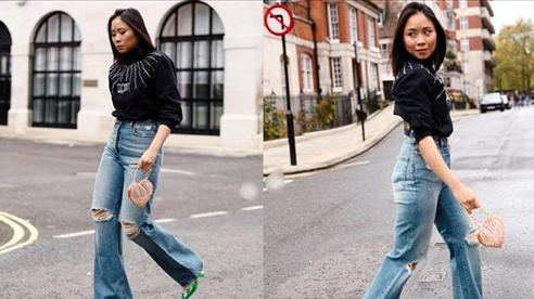 Khoe ảnh street style, chị gái bệnh nhân số 17 bị 'bóc mẽ' photoshop... méo cả mặt đường
