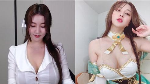 Ăn mặc kín mít mà vẫn bị cảnh cáo nội dung khêu gợi, nữ streamer 'siêu vòng một' bức xúc lên mạng trần tình