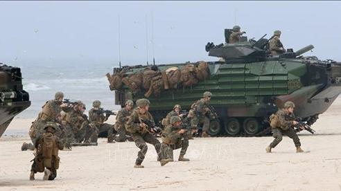 Mỹ, NATO tiến hành hàng loạt cuộc tập trận ở châu Âu