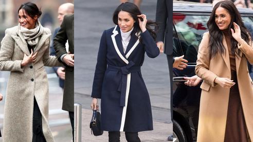Meghan Markle hóa ra là cao thủ diện áo khoác dáng dài, xem mà học được 11 outfit để style sang như người Hoàng gia