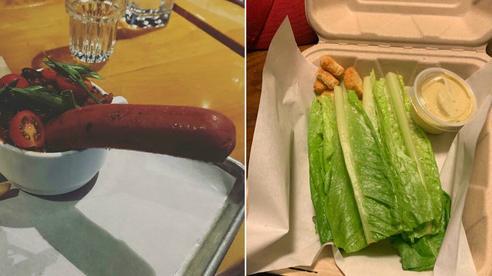 Những lần nhà hàng phục vụ suất ăn mà như muốn 'đuổi cổ' khách đi, chất lượng còn tệ hơn quán ven đường nữa!