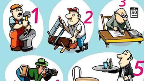 Thách thức con mắt 5 giây: Nhìn vào tranh, đố bạn tìm ra người thuận tay trái