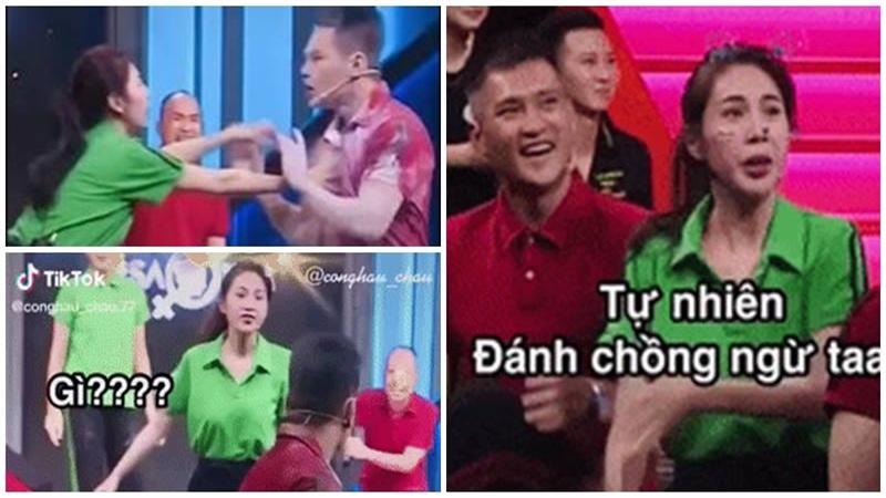 Phản ứng bất ngờ của Công Vinh khi thấy bà xã 'dằn mặt' với Lê Dương Bảo Lâm để bảo vệ mình