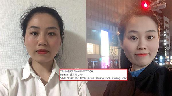 Cô gái Quảng Bình mất tích 5 ngày ở Nhật Bản: 'Đồ đạc đều để ở phòng, trước khi rời đi không có biểu hiện bất thường'