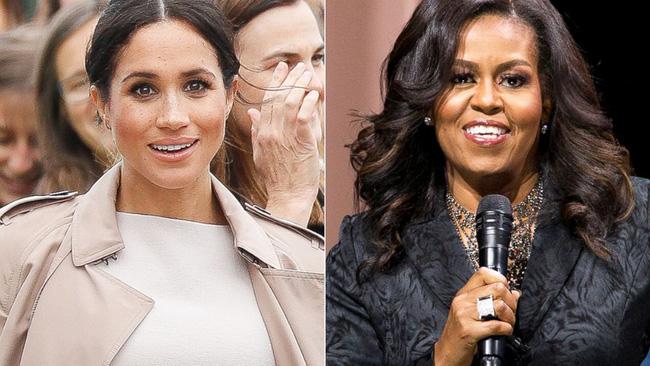 Meghan muốn trở thành một Michelle Obama thứ 2.