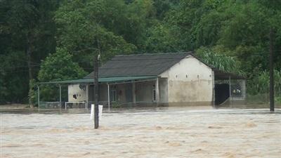 Xã Việt Lâm (Vị Xuyên) bị cô lập do mưa lớn