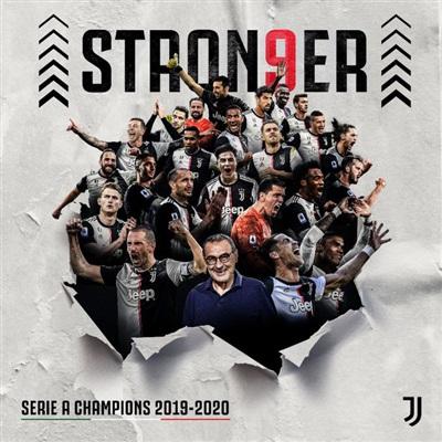Juventus lần thứ 9 liên tiếp vô địch Serie A