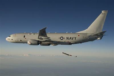Máy bay săn ngầm P-8A của hải quân Mỹ áp sát Thượng Hải ở khoảng cách chưa đầy 100 km. (Ảnh minh họa)