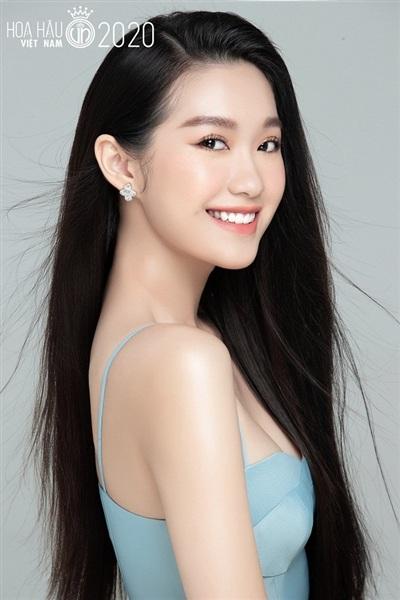 Doãn Hải My (sinh năm 2001), đến từ Hà Nội là thí sinh tiếp theo dự thi Hoa hậu Việt Nam 2020. Ngay từ khi xuất hiện trên trang chủ của cuộc thi, cô nàng đã nhận được vô vàn lời khen ngợi bởi nhan sắc nổi bật.