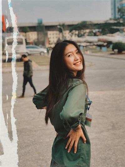 Những bức ảnh đời thường của Hải My cũng không làm bớt đi phần nào nhan sắc khá thu hút của cô gái 19 tuổi.
