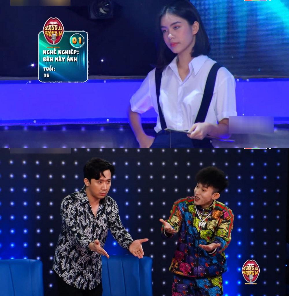 Vừa xuất hiện, nữ thí sinh số 1 đã khiến dàn khách mời phải tranh giành.
