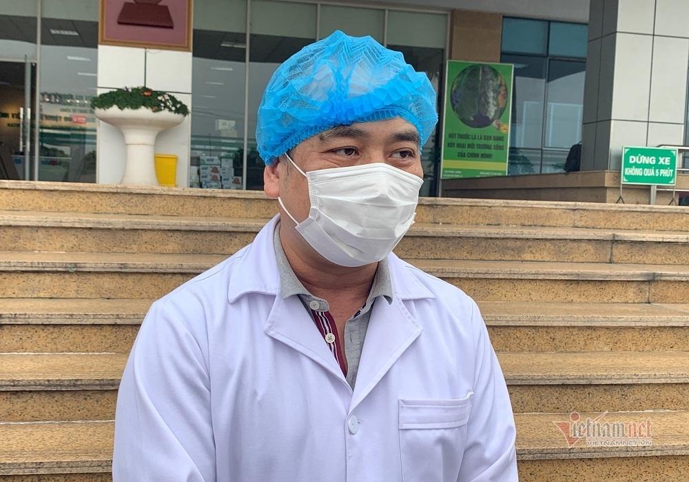 ThS.BS Nguyễn Trung Cấp, Phó Giám đốc Bệnh viện Bệnh Nhiệt đới Trung ương
