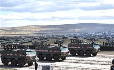 Quân đội Nga tập trận quy mô lớn Vostok 2018.