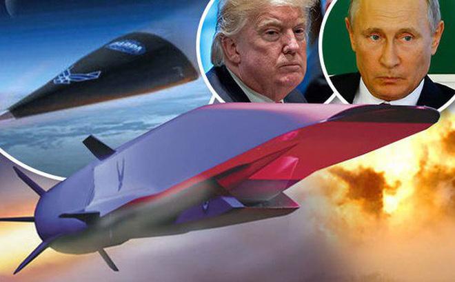 Ảnh minh họa cuộc đua vũ khí siêu vượt âm Nga-Mỹ. Nguồn: Daily Express