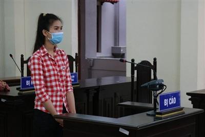 Bị cáo Nguyễn Thị Phượng tại phiên xử sơ thẩm