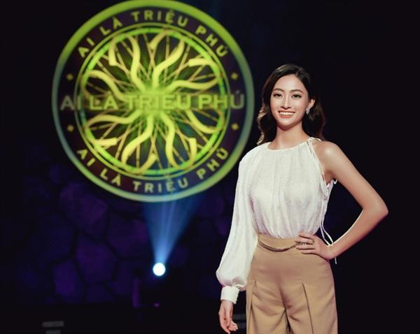 Lương Thuỳ Linh khoe nhan sắc, thần thái đỉnh cao tại chương trình.