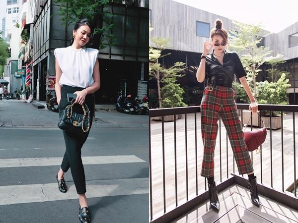 Thanh lịch, sang trọng làm nên một phong cách ăn mặc rất riêng của Thanh Hằng.