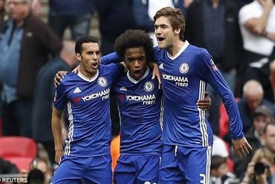 Willian cùng với Pedro và Marcos Alonso cùng chia tay Chelsea mùa hè này