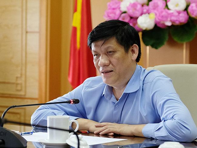 GS.TS Nguyễn Thanh Long, Quyền Bộ trưởng Bộ Y tế.