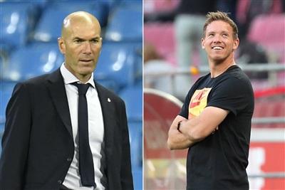 Real Madrid có thể thay Zidanebằng Nagelsmann