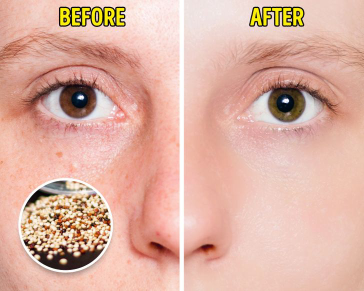 Quinoa chứa vitamin B3.