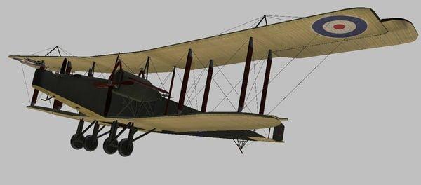 Máy bay ném bom Handley Page O 400. (Nguồn: National Interrest)