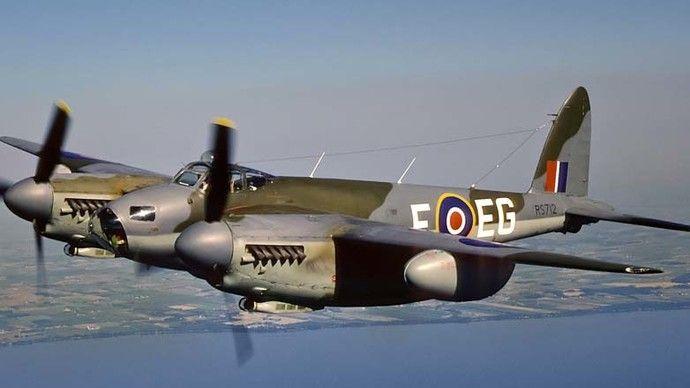 Máy bay De HavillandMosquito. (Nguồn : National Interest)
