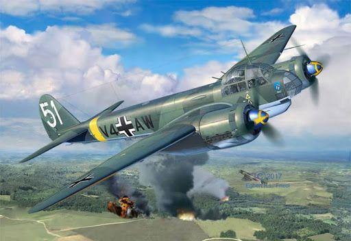 Máy bay Junkers Ju-88. (Nguồn: National Interest)