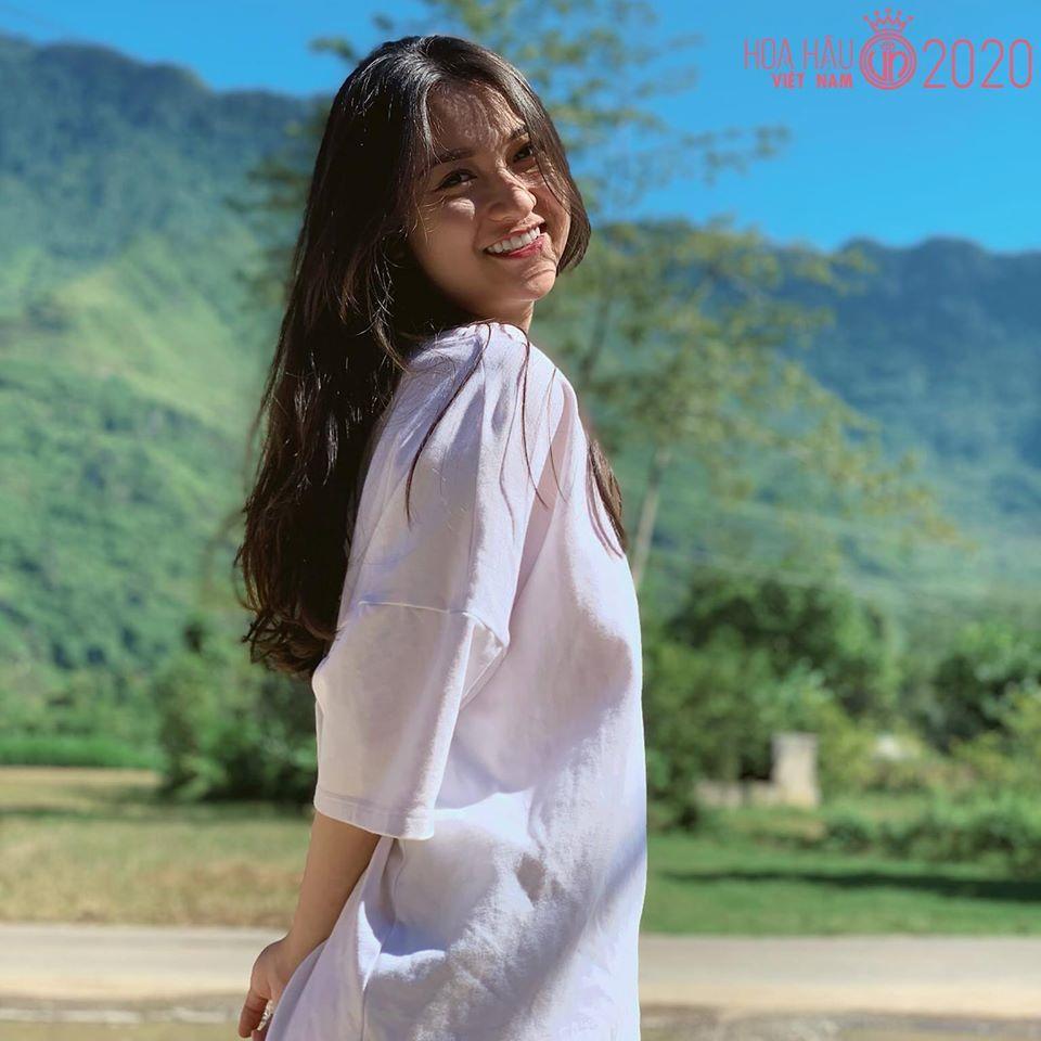 Vũ Thị Anh Thư - sinh viên năm cuối ĐH Sư phạm nghệ thuật Trung ương khoa thanh nhạc vừa đăng ký dự thi Hoa hậu Việt Nam 2020.