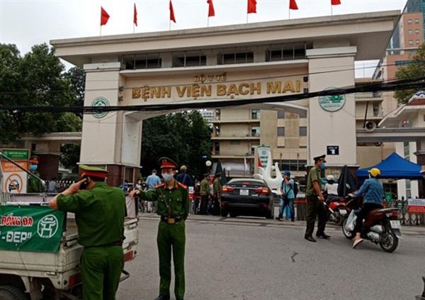 Bệnh viện Bạch Mai từng bị phong toả 14 ngày do dịch Covid-19