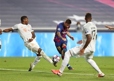Cánh én Messi lẻ loi không làm nên chuyện cho Barcelona