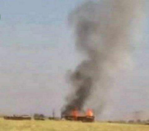 Hình ảnh về vụ tấn công của trực thăng Mỹ.