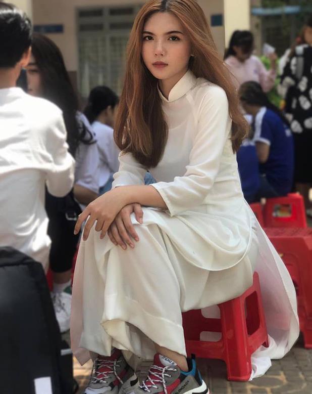 Bức ảnh giúp Hồng Khanh trở nên nổi tiếng