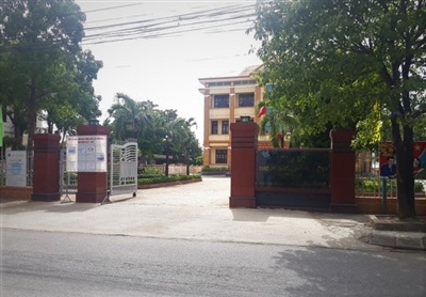 Trụ sở UBND phường 5, nơi ông C. là Phó Chủ tịch