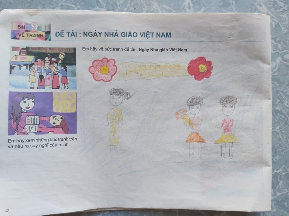 Một tác phẩm của bạn Phạm Thu Hà mà khi xem lại không nghĩ là mình đang học lớp 8.