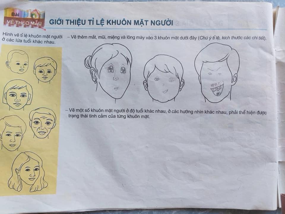 Hà có nhiều ý tưởng vẽ nhưng tác phẩm lại thành ra hài hước thế này.