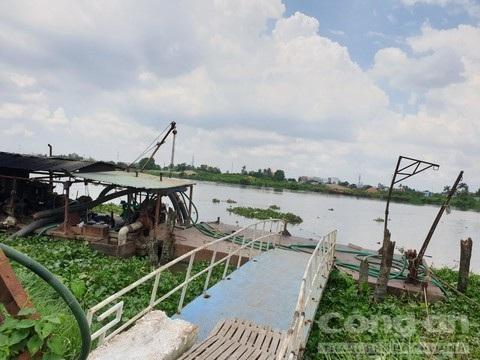 Khu vực sông Sài Sòn nơi phát hiện vụ việc.