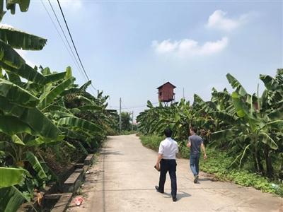 Khu vực đường nơi xảy ra vụ việc.