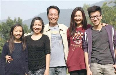 Gia đình 5 người của diva Mỹ Linh.